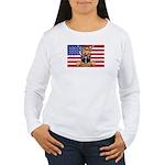 U.S.A. Rhodesia Flag Women's Long Sleeve T-Shirt