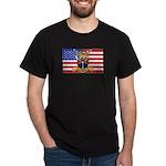 U.S.A. Rhodesia Flag Dark T-Shirt