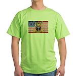 U.S.A. Rhodesia Flag Green T-Shirt