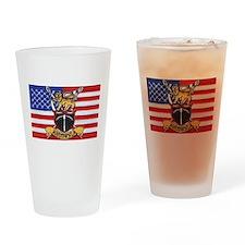 U.S.A. Rhodesia Flag Drinking Glass