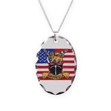 U.S.A. Rhodesia Flag Necklace
