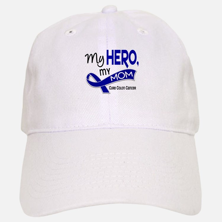 My Hero Colon Cancer Baseball Baseball Cap