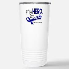My Hero Colon Cancer Stainless Steel Travel Mug