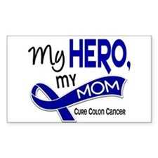 My Hero Colon Cancer Decal