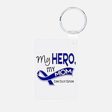 My Hero Colon Cancer Keychains