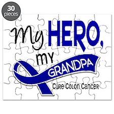 My Hero Colon Cancer Puzzle