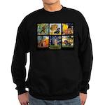 Dachshund Famous Art 1 Sweatshirt (dark)
