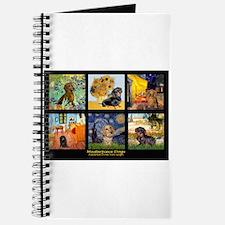Dachshund Famous Art 1 Journal