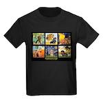 Dachshund Famous Art 1 Kids Dark T-Shirt