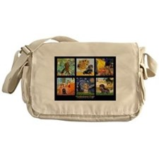 Dachshund Famous Art 1 Messenger Bag