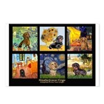 Dachshund Famous Art 1 Postcards (Package of 8)