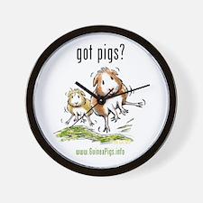 Unique Guinea pigs Wall Clock
