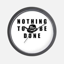 Nothing to be Done Wall Clock