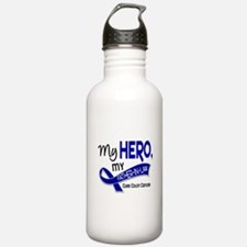 My Hero Colon Cancer Water Bottle