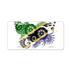 Tanzania Flag Aluminum License Plate