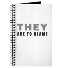 They (WE) are to Blame Journal