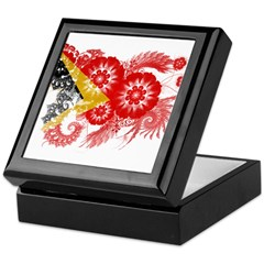 Timor Leste Flag Keepsake Box