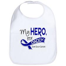 My Hero Colon Cancer Bib