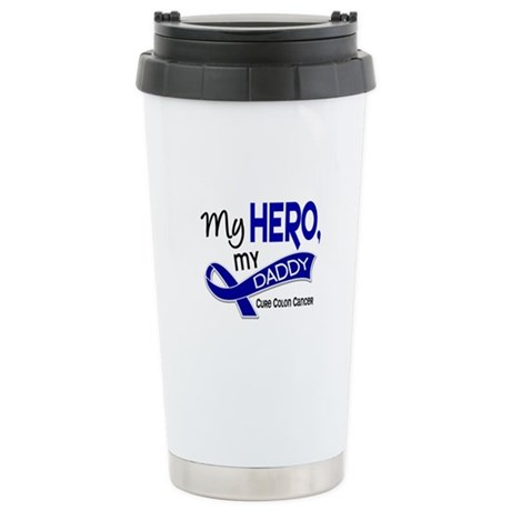 My Hero Colon Cancer Stainless Steel Travel Mug
