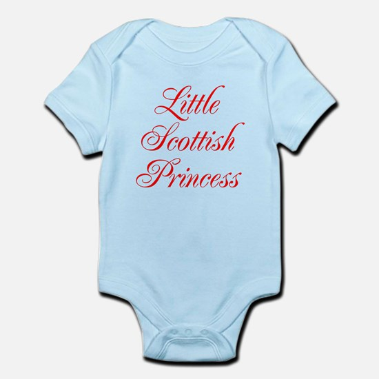 Little Scottish Princess Infant Bodysuit