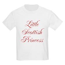 Little Scottish Princess T-Shirt