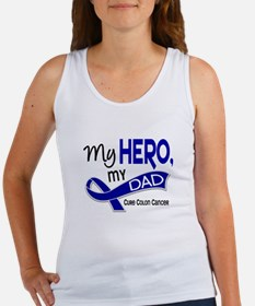 My Hero Colon Cancer Women's Tank Top