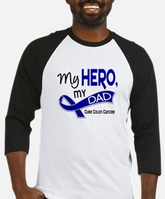 My Hero Colon Cancer Baseball Jersey