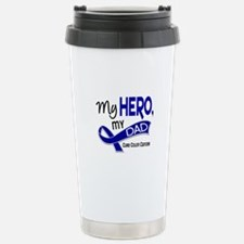 My Hero Colon Cancer Travel Mug