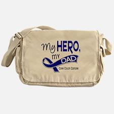 My Hero Colon Cancer Messenger Bag