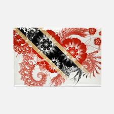 Trinidad and Tobago Flag Rectangle Magnet
