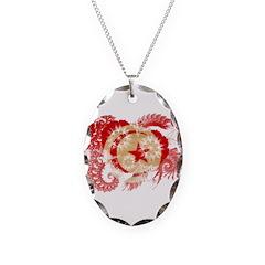 Tunisia Flag Necklace