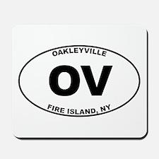 Oakleyville Fire Island Mousepad