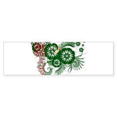Turkmenistan Flag Bumper Sticker