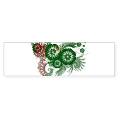 Turkmenistan Flag Bumper Sticker