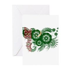 Turkmenistan Flag Greeting Cards (Pk of 20)