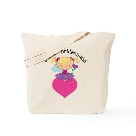 Junior Bridesmaid Fairy Wedding Tote Bag