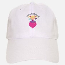 Junior Bridesmaid Fairy Wedding Baseball Baseball Cap
