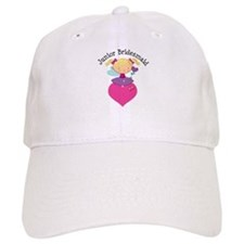 Junior Bridesmaid Fairy Wedding Baseball Cap