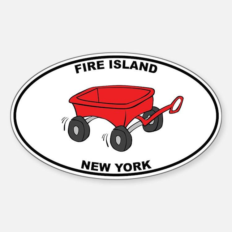 Fire Island Wagon Decal