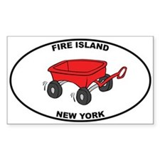 Fire Island Wagon Decal