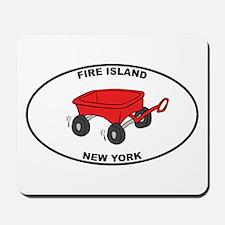 Fire Island Wagon Mousepad