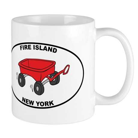 Fire Island Wagon Mug