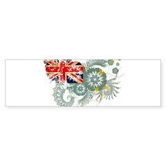 Tuvalu Flag Sticker (Bumper)