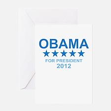 Obama for President Greeting Card