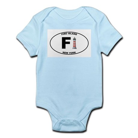 Fire Island Infant Bodysuit