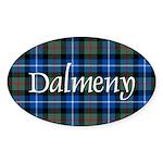 Tartan - Dalmeny Sticker (Oval)