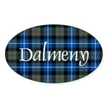 Tartan - Dalmeny Sticker (Oval 10 pk)