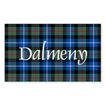 Tartan - Dalmeny Sticker (Rectangle)