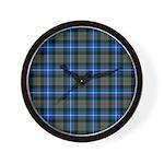Tartan - Dalmeny Wall Clock