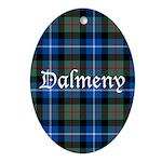 Tartan - Dalmeny Ornament (Oval)